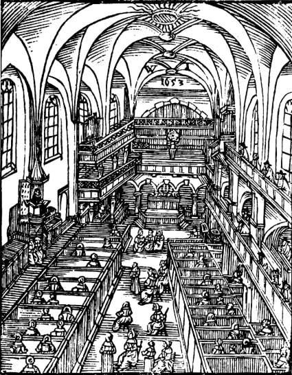 Frankfurt/M., Barfüßerkirche 1653