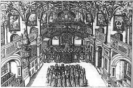 Dresdner Hofkirche, 1662
